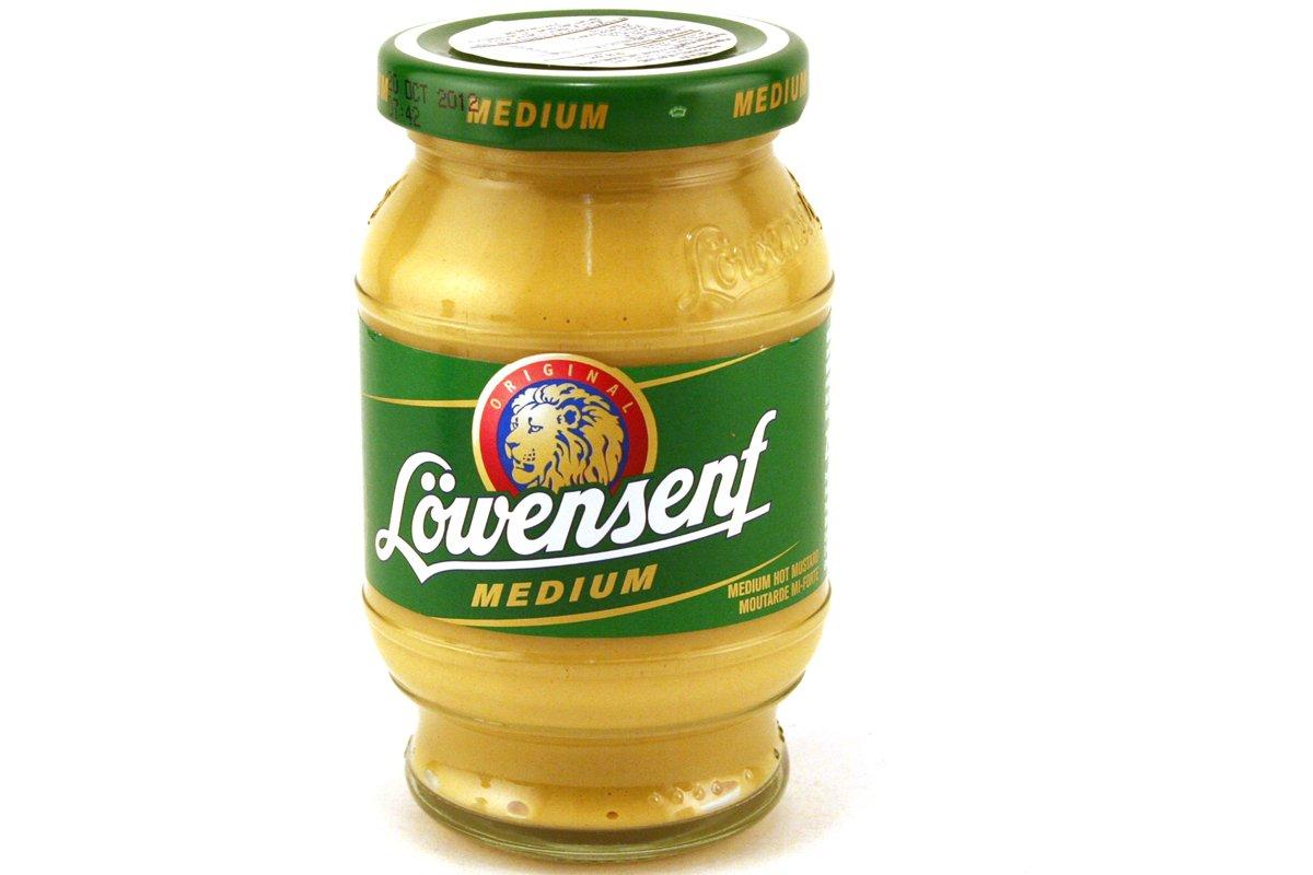 Medium Hot Mustard - 8. 45oz (Pack of 6)
