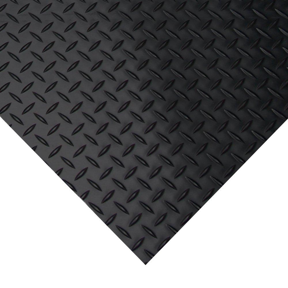 Amazon Diamond Plate Rubber Flooring Rolls 3mm X 4ft Wide