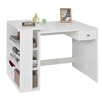 Sobuy Fwt35 W Table Bureau Informatique Plan De Travail Avec 3