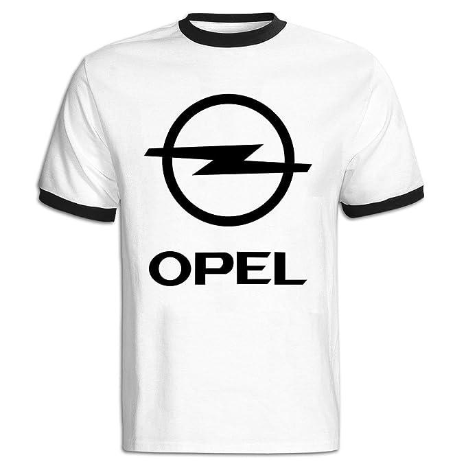 Amazon Com Mens Opel Ag Logo Baseball Tee Shirt Black Clothing
