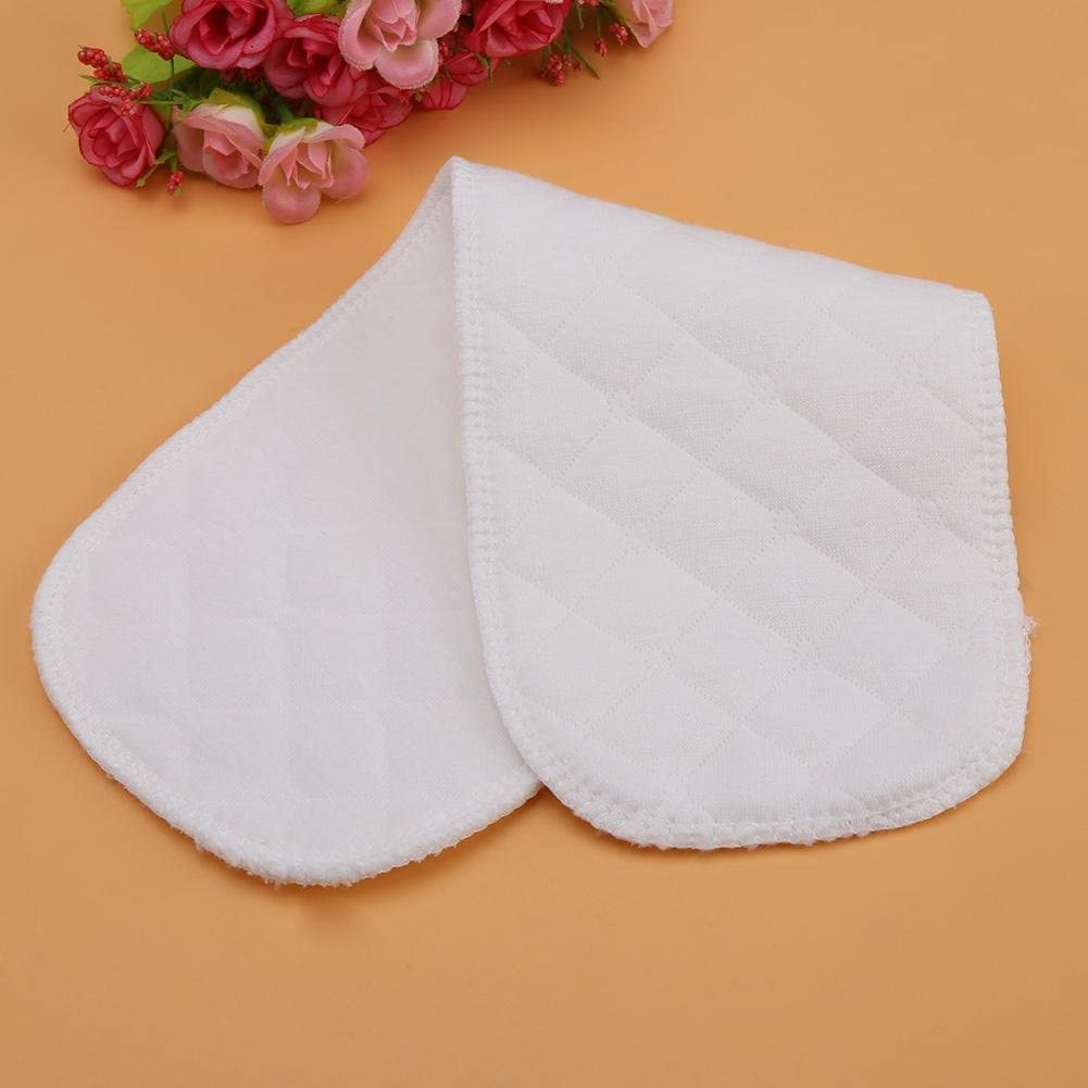 6 Layers 10Pcs Baby Toddler Cotton Cloth Diaper Soft Breathable Nappy Liners Insert 12.5/×4.7in