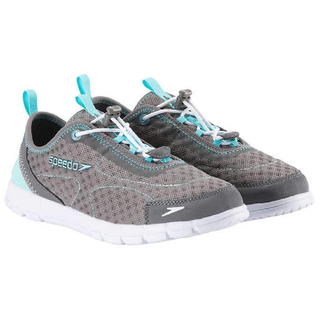 Speedo Womens Hybrid Watercross Water Shoe Light Grey