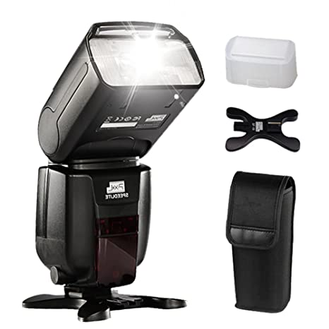 Pixel X800N Pro Wireless I-TTL HSS Flash Speedlite para Nikon D810 ...