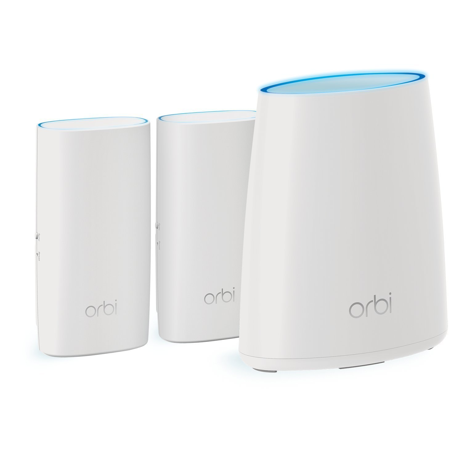 Simple setup NETGEAR Orbi Plug-in Satellite Add-On Only Works with  Alexa Single network name No WiFi dead zones Add up to 1500 sqft RBW30