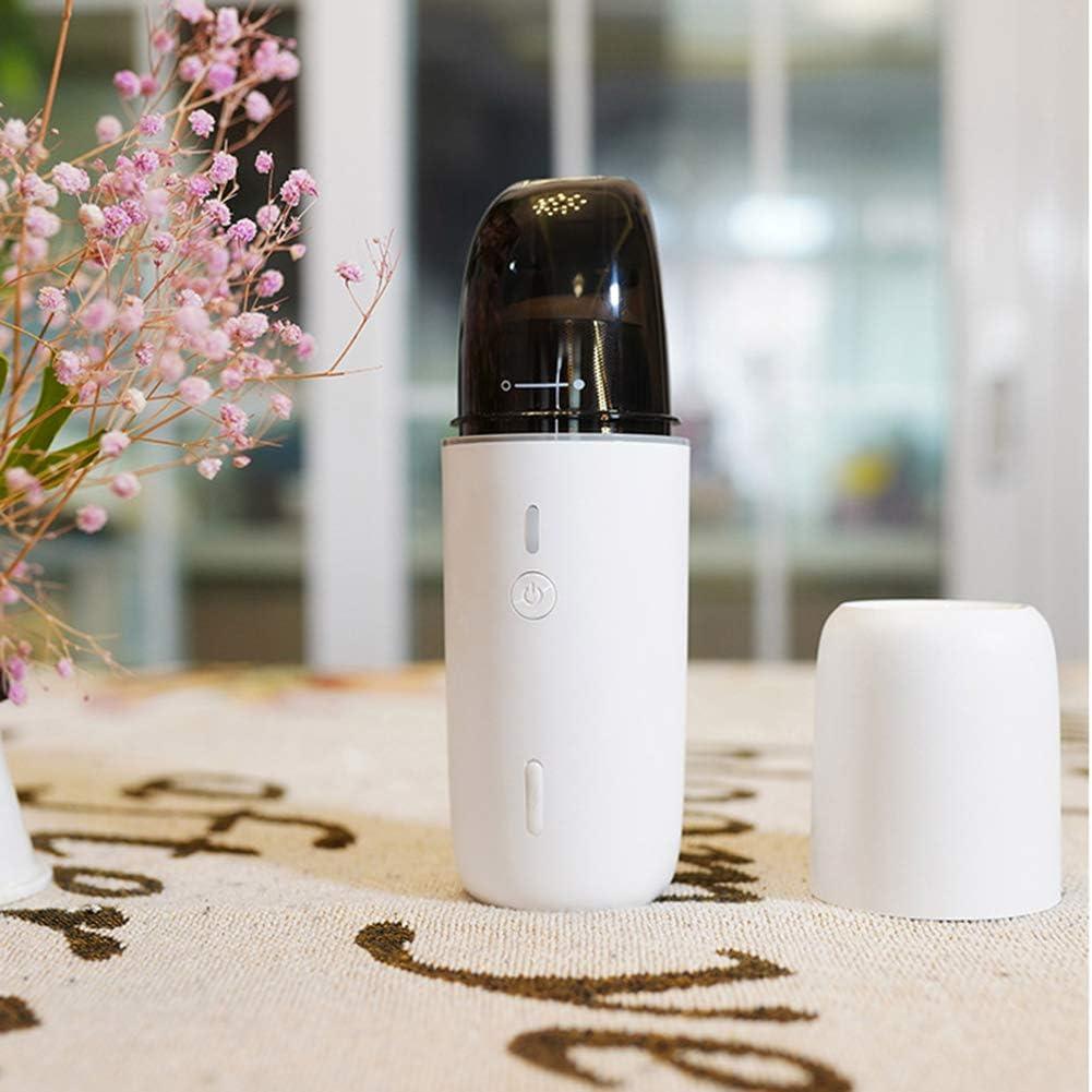 Aspirateur à Main sans Fil, 4000PaAspirateur Portable de Charge Rapide Filtre HEPA Lavable Rechargeable pour Maison,Table, Bureau,Blanc White