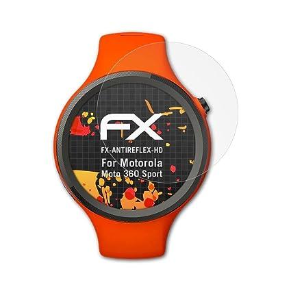 atFoliX Protector Película para Motorola Moto 360 Sport ...