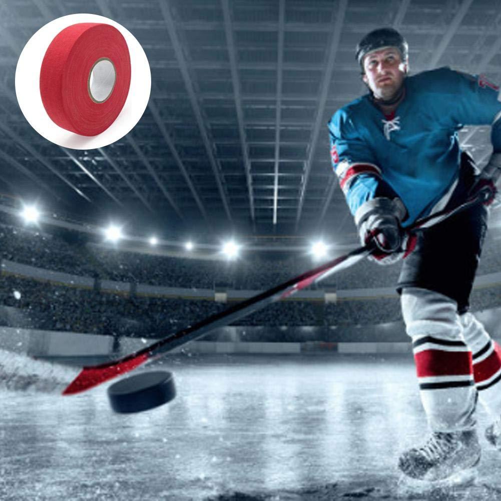 Yunhigh Cinta de Hockey Cinta de Palo de Hockey Hockey Sobre Hielo Cinta de Engranajes Protectora Cinta Antideslizante Disponible