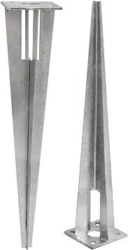 Pfostenhülse Pfostenträger Bodenhülse Hülse Einschlagbodenhülse aus Edelstahl