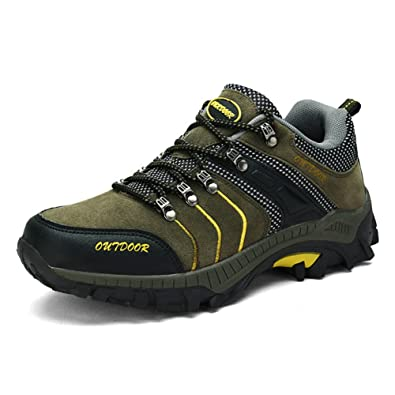 Men's Unisex Breathable Hiking Shoes Outdoor Climbing Waterproof Flats Tactical Sneakers