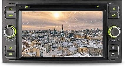 A Sure Gps Sat Nav Navigation Dvd Car Radio Navi For Ford Fiesta Focus Transit C Max S Max Kuga Galaxy Wifi Bt Elektronik