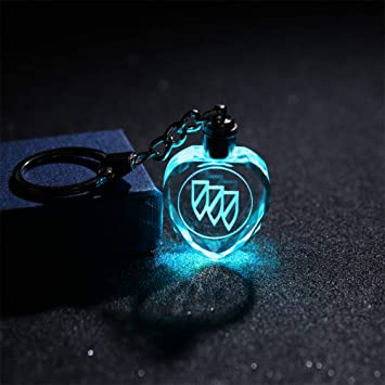 Fitracker Car Logo Keychain Accessories Metal Alloy Car Key Chain Keyring with Gift Box