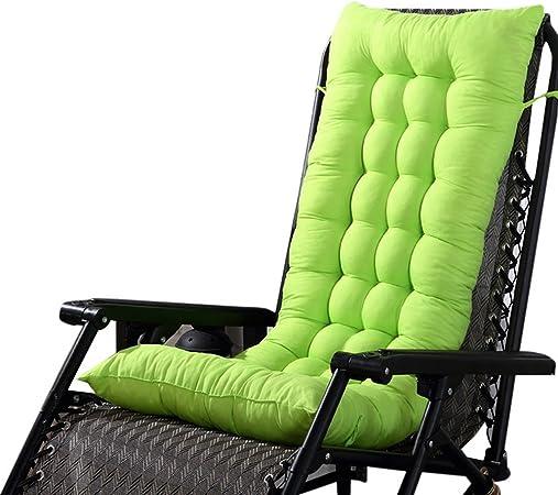 URIJK Coussin de Chaise de Jardin Coussin de Fauteuil Extérieur en Polyester Épais Doux Coussin d'Assise Dossier Terrasse Cousse de Chaise Longue Bain