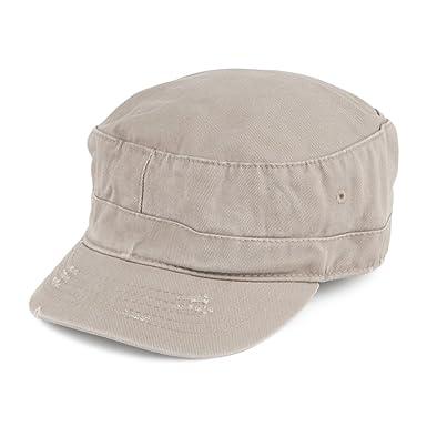57be6a37e933e2 Dorfman-Pacific Hats Kids Army Cap - Khaki Kids - 1-Size: Amazon.co.uk:  Clothing