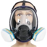 Compleet pak Trudsafe 6800 herbruikbaar volgelaatsmasker voor schilderen, polijsten, lassen en stof, 2 soorten…