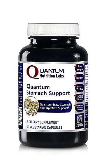Amazon.com: Quantum estómago Apoyo, 240 Vcaps 4 botellas ...