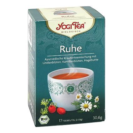 TEA de Yoga paz Bio 30.6 G filtro bolsa: Amazon.es: Salud y ...