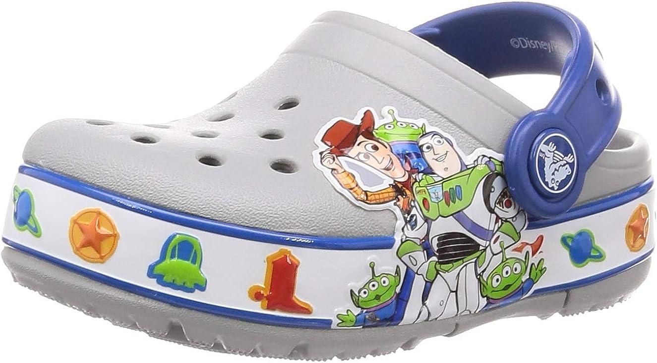 New Crocs Kids/' StarWars Glow in the Dark Crocband Disney Clog Toddler 4 threw 7