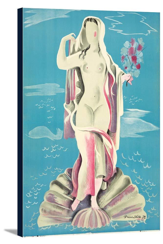 バルセロナExpositionヴィンテージポスター(アーティスト: Sala )スペインC。1935 12 x 18 Gallery Canvas LANT-3P-SC-74085-12x18 12 x 18 Gallery Canvas  B01DZ23NS0