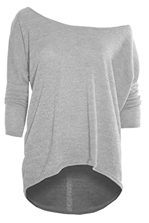 Plus Size Ladies Womens Lagenlook Knitted Zip Up Baggy Oversize Hi Lo Jumper Top