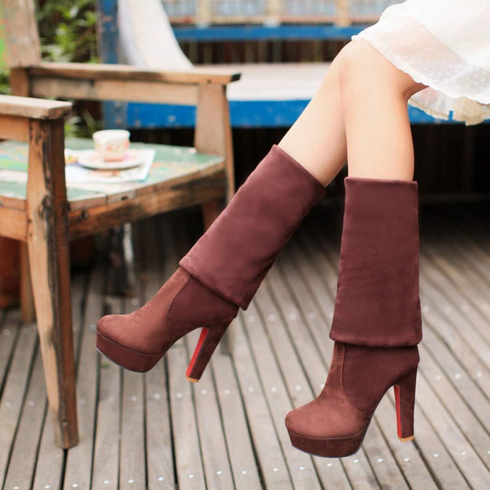 Botas Alto Tacó n Mujer Bolsas para zapatos LANSKIRT Mujer
