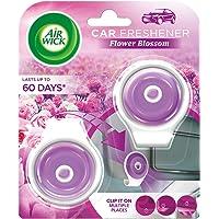 Airwick Car Freshener Multi-surface Clip, Flower Blossom – 2 units