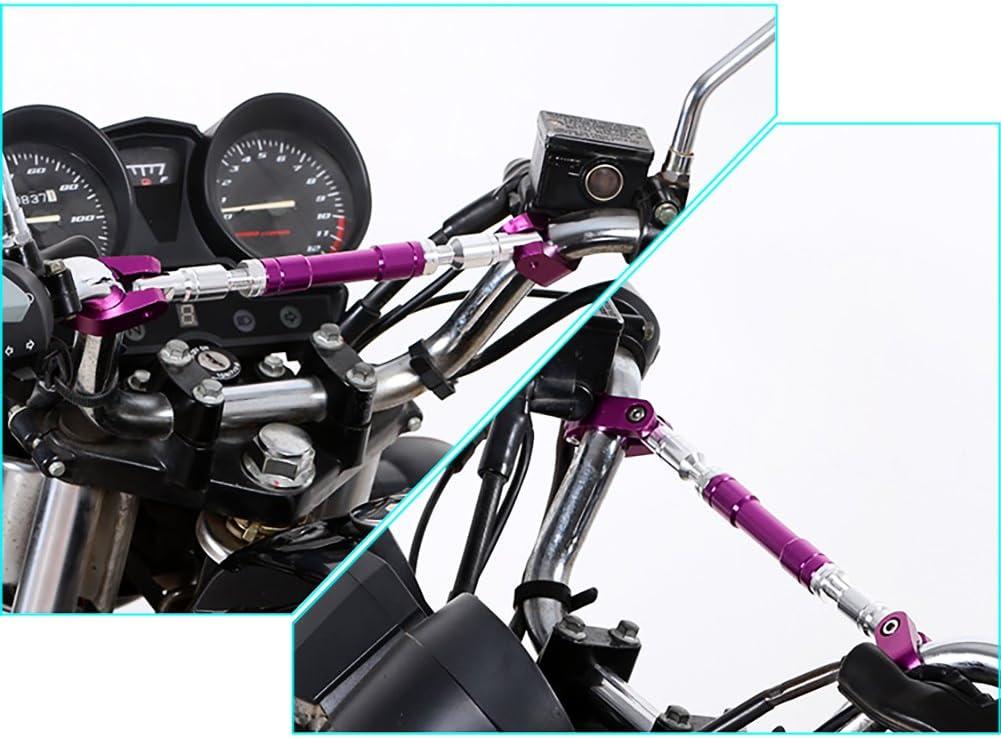 Barre de renfort universelle pour guidon de moto R/églable En alliage daluminium 22/mm Zantec