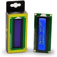 KEYESTUDIO 1602 LCD Display Module Screen Blue 5V 16x2 for Arduino Mega, U&O R3, Nano, Raspberry Pi