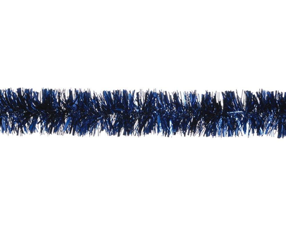 Midnight Blue Tinsel Christmas Tree Decoration - 2m | Christmas Tree Decoration Crafty Capers
