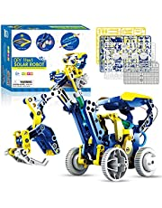Stem Projects for Kids Ages 8-12, Make Your Own 11in1 Solar Robot Toy, DIY Science Kits for Boys 8-12, Cool Toys & Gifts for 8+ Boys and Girls
