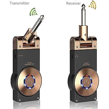 Amazon Com Getaria 2 4ghz Wireless Guitar System