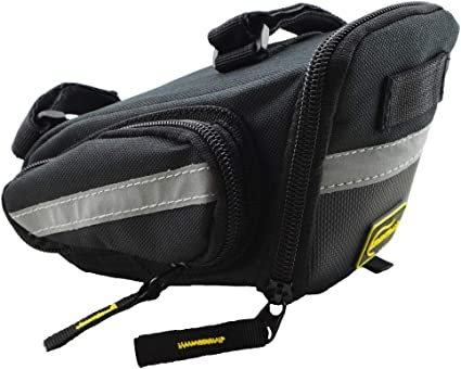 Small,Medium,Large Seat Bag //Cycling Bag, BV Bicycle Strap-On Bike Saddle Bag