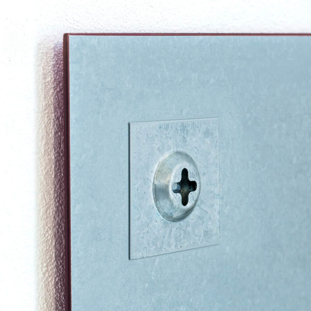 100 x 60 cm Memoboard Gelb Ultra Clear Glass /® Glas Whiteboard Pure Farbe Glas Expert 1 Marker Magnetwand   Tafell/öscher 3 Magnete 1 Board-Eraser Smart Glass Board /® Magnettafel