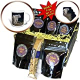 3dRose Danita Delimont - Goats - Mountain goat in Glacier National Park, Montana, USA - Coffee Gift Baskets - Coffee Gift Basket (cgb_279221_1)