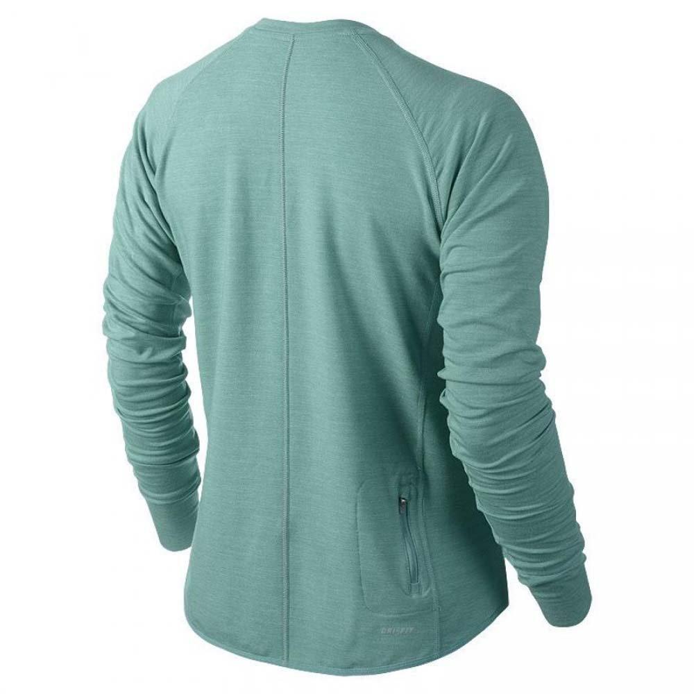 65d6ba4a4 Amazon.com: Nike Women's Dri-Fit Sprint Crew Running Shirt-Mint Green-XS:  Sports & Outdoors