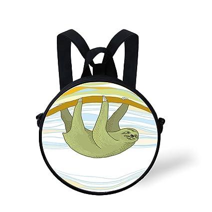 93aa6dce89a6 Amazon.com: Toddler Preschool Backpack,Henna,Doodle Style Elephant ...