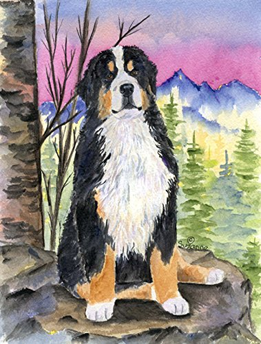 Caroline's Treasures SS8336GF Bernese Mountain Dog Flag, Small, Multicolor - Bernese Mountain Dog Garden Flag