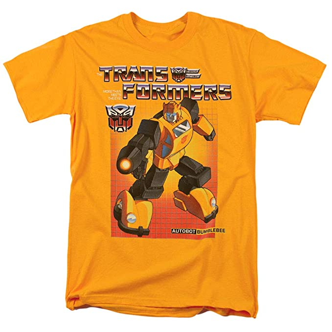 1ce84546e93ab Transformers Bumblebee T Shirt & Stickers