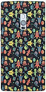 Snoogg Alien Gone Crazy Designer Protective Back Case Cover For One Plus Two