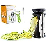Cool-Shop Vegetable Spiralizer Bundle - Spiral Slicer - Zucchini Spaghetti Pasta Maker