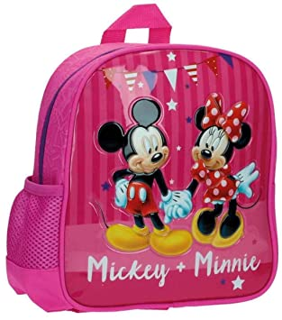 Disney 2692051 Mickey & Minnie Party Mochila Infantil, 5.75 litros, Color Rosa: Amazon.es: Equipaje