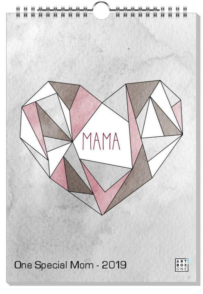ArtboxONE Kalender 2019 2019 2019 Flowers for Mom Wandkalender A2 Für Mama B07JHG7HQ6 Wandkalender Förderung 5894a2