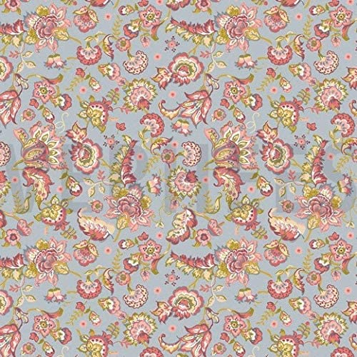 tela de flores 100% algodón orgánico 1 mts x 140 cms: Amazon.es: Hogar