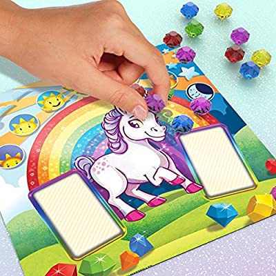 Unicorn Surprise – Board Game with an Interactive Magical Unicorn: Toys & Games