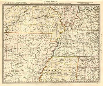 Amazoncom USA Arkansas Tennessee MO MS IL IN KY AL Mississippi
