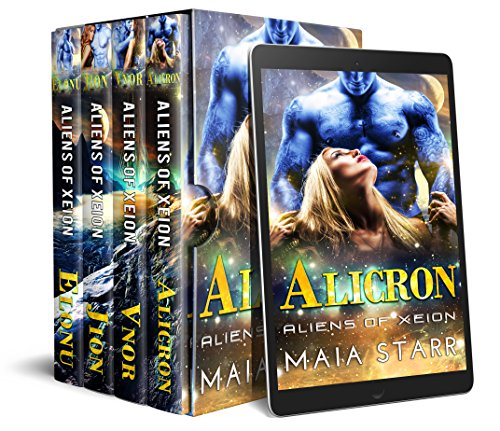 Aliens Of Xeion: The Complete Series (Books 1-4) (Dixon Collection)