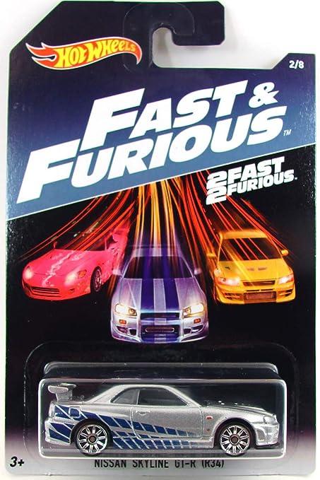 2 FAST 2 FURIOUS FAST /& FURIOUS Hot Wheels