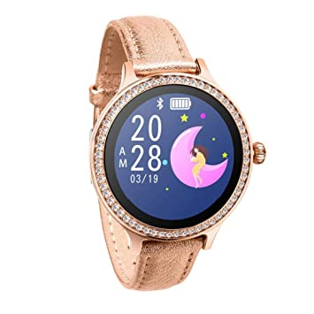 Amazon.com: kup M8 Bluetooth Smart Watch Waterproof Heart ...