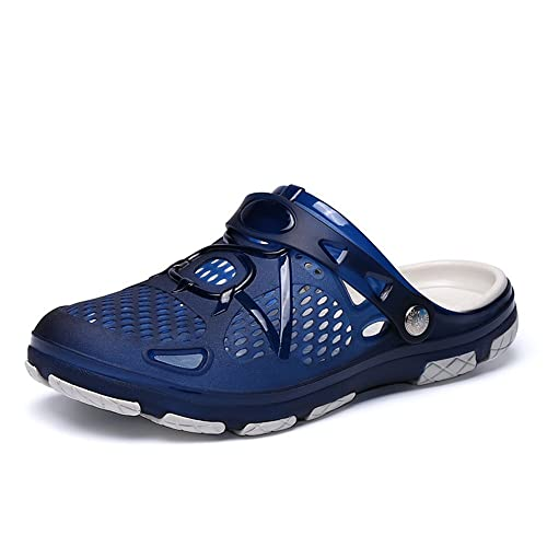 Sandalias para hombre, para la playa, piscina, ducha, tallas 40-45, color Azul, talla 41 EU