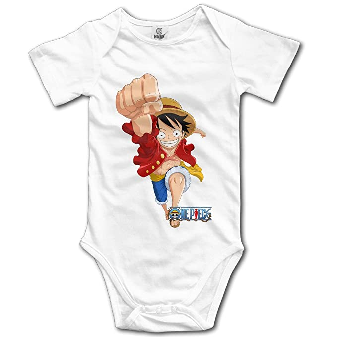 One Piece Anime Character Luffy Baby Onesie Bodysuits Amazon Ca