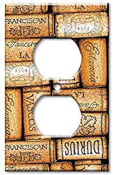 Art Plates - Corks Switch Plate - Outlet Cover